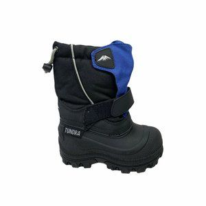 Tundra Boots Kids snow boot Boys Black Size 7 wide